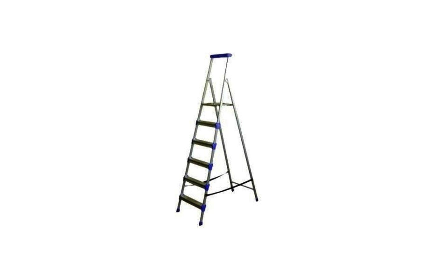 Лестница Лестница-стремянка НИКА СМ6 1865 см 150 кг 6 ступеней, метал