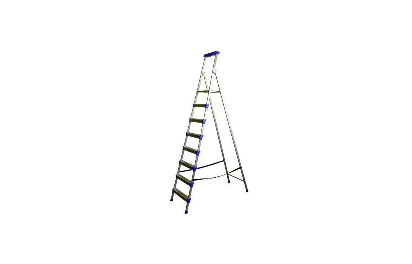 Лестница Лестница-стремянка НИКА СМ8 2300 см 100 кг 8 ступеней, метал