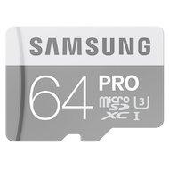Фото Карта памяти Samsung microSDXC 64Gb Class 10 PRO + адаптер (MB-MG64EA)