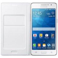 Фото Чехол Samsung Flip Wallet для Galaxy Grand Prime (G530/G531) белый (EF-WG530BWEGRU)