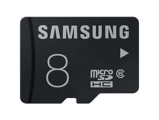 Карта памяти Samsung microSDHC 8Gb Class 6