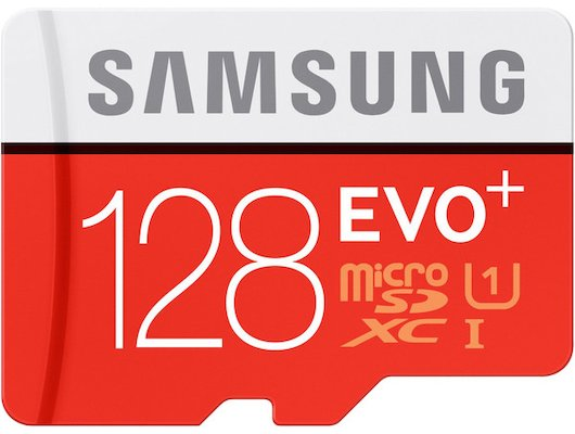 Карта памяти Samsung microSDXC 128Gb Class 10 EVO Plus + адаптер (MB-MC128DA)