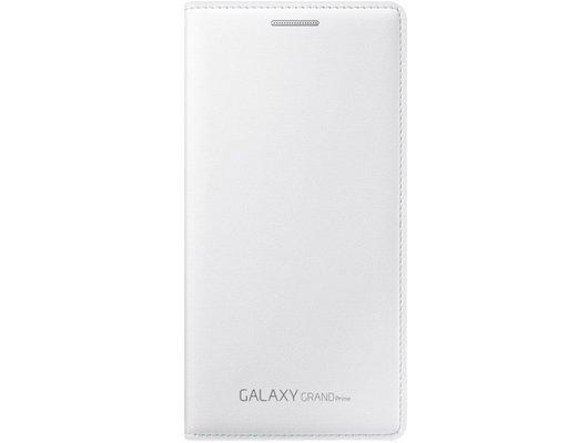 Чехол Samsung Flip Wallet для Galaxy Grand Prime (G530/G531) белый (EF-WG530BWEGRU)