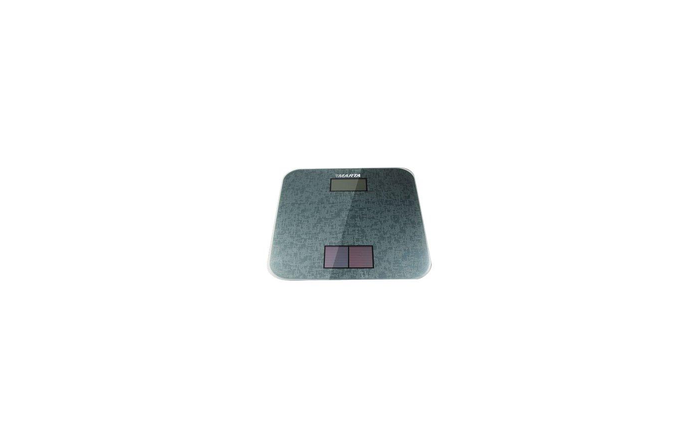 Весы напольные MARTA MT-1663 металлик