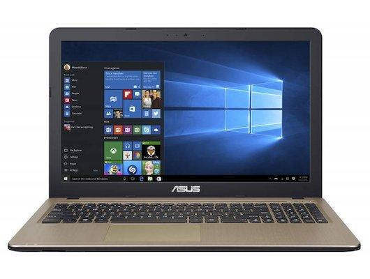 Ноутбук ASUS X540SC-XX040T /90NB0B21-M01640/ intel N3700/4Gb/500Gb/GT810 1Gb/DVDRW/15.6/WiFi/Win10