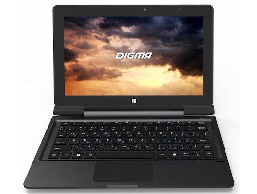 Планшет Digma EVE 1800 3G (10.1) IPS /ES1035EG/ intel Z8300/32Gb/3G/WiFi/BT/dock/Win10 Графит