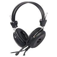Наушники с микрофоном проводные A4 HS-30