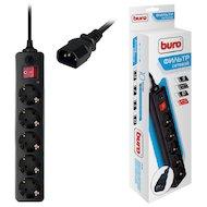 Сетевой фильтр BURO 500SH-1.8-UPS-B 5роз./1.8м. черный