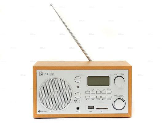 Радиоприемник БЗРП РП-320 Bluetooth дерево