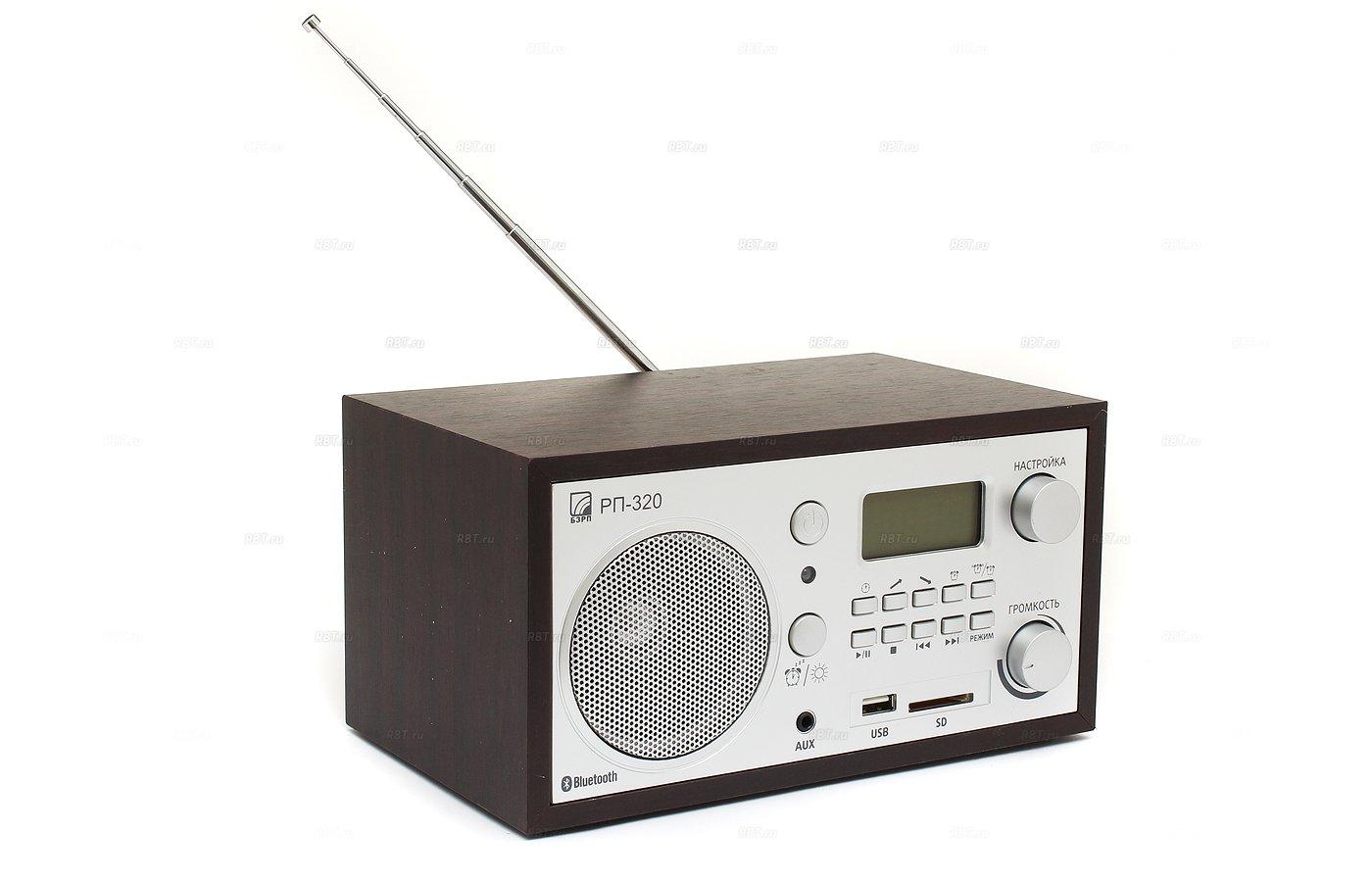 Радиоприемник БЗРП РП-320 Bluetooth черный