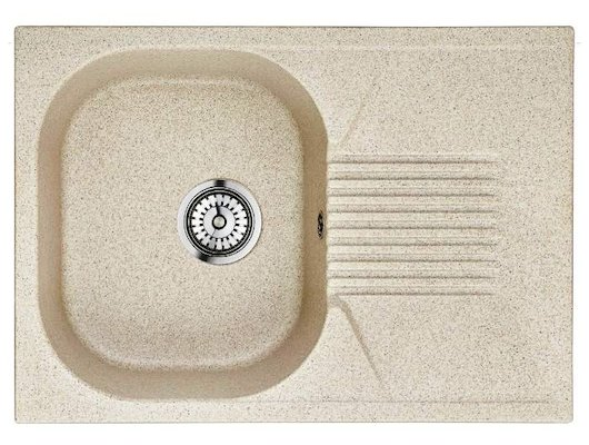 Кухонная мойка Weissgauff CLASSIC 695 Eco Granit светло-бежевый