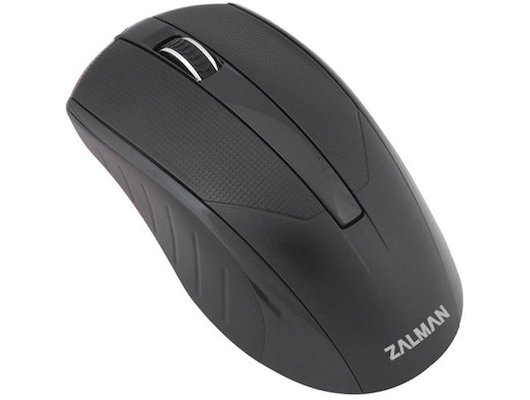 Мышь проводная Zalman ZM-M100 USB 1000dpi optical black color