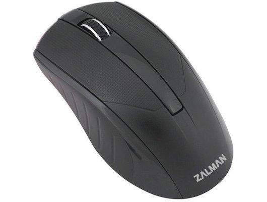 Мышь проводная Zalman ZM-M100 USB 1000dpi optical black color