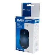 Фото Мышь проводная SVEN RX-150 Black USB+PS/2