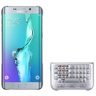 Фото Чехол Samsung Keyboard для Galaxy S6 Edge+ (SM-G928) (EJ-CG928RSEGRU) silver
