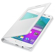 Фото Чехол Samsung S-View для Galaxy A5 (SM-A500) (EF-CA500BWEGRU) белый