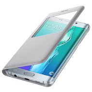 Фото Чехол Samsung S-View для Galaxy S6 Edge+ (SM-G928) (EF-CG928PSEGRU) серый