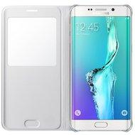 Фото Чехол Samsung S-View для Galaxy S6 Edge+ (SM-G928) (EF-CG928PWEGRU) белый