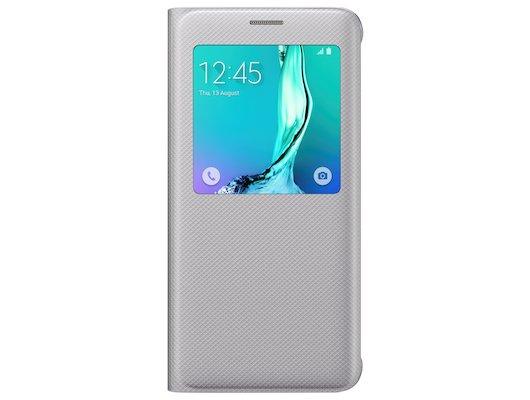 Чехол Samsung S-View для Galaxy S6 Edge+ (SM-G928) (EF-CG928PSEGRU) серый