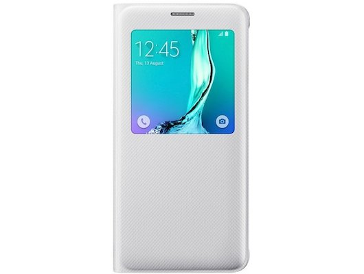 Чехол Samsung S-View для Galaxy S6 Edge+ (SM-G928) (EF-CG928PWEGRU) белый