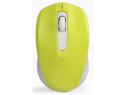 Мышь беспроводная SmartBuy One 331 желто-белая