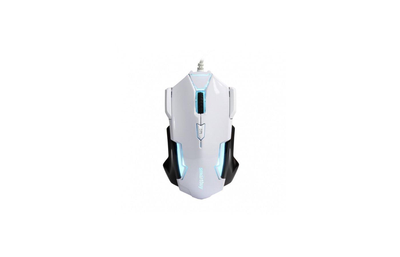 Мышь проводная SmartBuy 708 White/Black