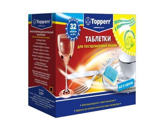 Таблетки для ПММ TOPPERR 3307