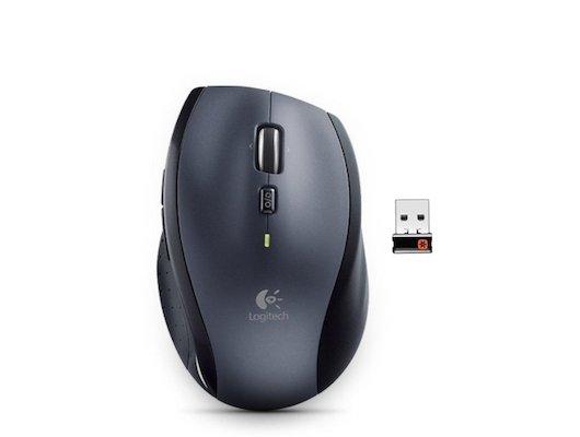 Мышь беспроводная Logitech Wireless Mouse M705 черная беспроводная лазерная (910-001950)