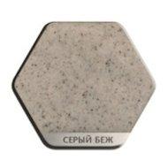 Фото Кухонная мойка Weissgauff ASCOT 575 Eco Granit серый беж