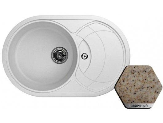 Кухонная мойка Weissgauff ASCOT 780 Eco Granit песочный