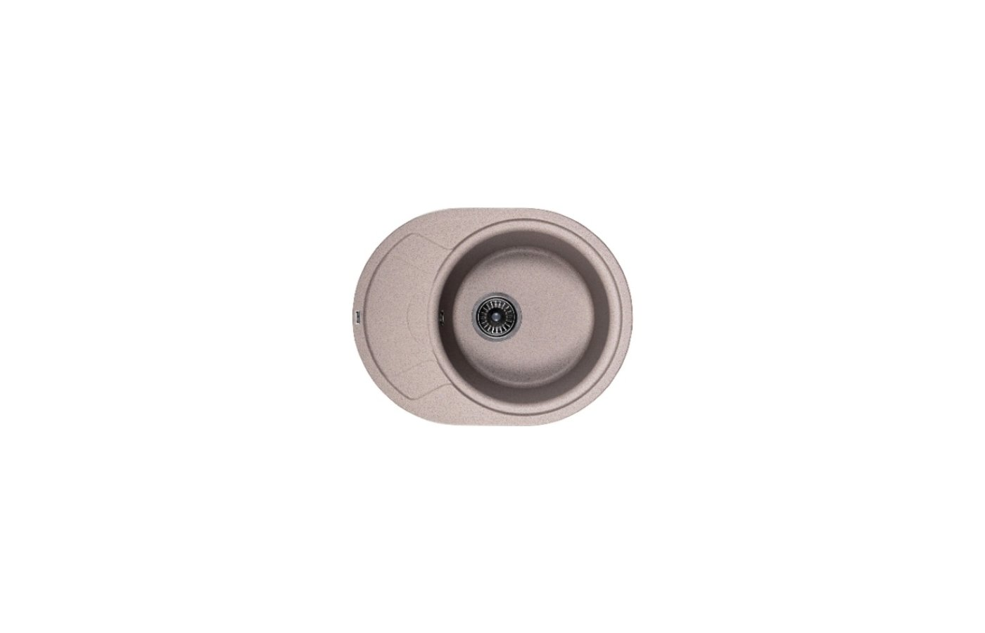 Кухонная мойка Weissgauff ASCOT 575 Eco Granit серый беж