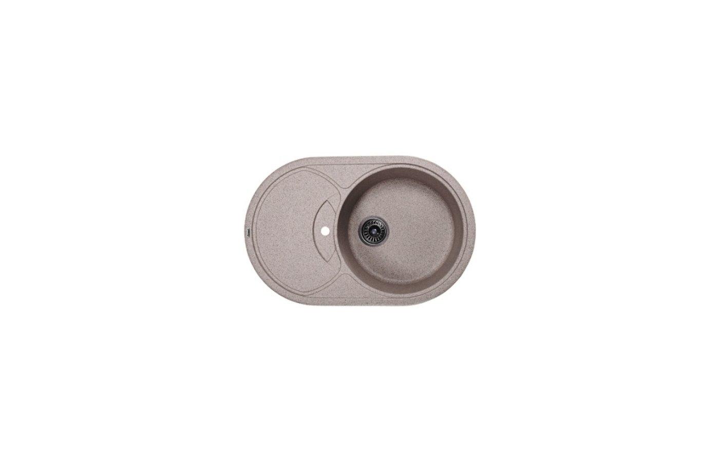 Кухонная мойка Weissgauff ASCOT 780 Eco Granit серый шелк