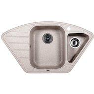 Фото Кухонная мойка Weissgauff CORNER 890 Eco Granit серый беж