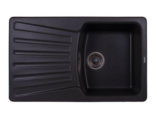 Кухонная мойка Weissgauff CLASSIC 800 Eco Granit черный