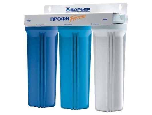 Фильтры для воды БАРЬЕР Профи Ferrum