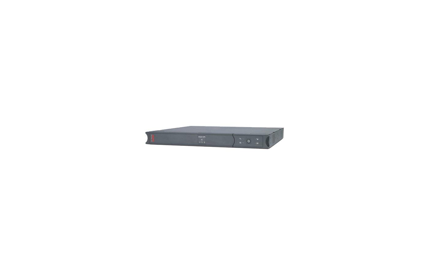 Блок питания APC Smart-UPS SC SC450RMI1U 280Вт 450ВА черный