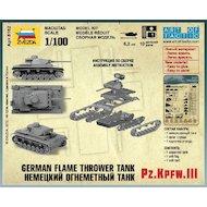 Фото Конструктор ЗВЕЗДА 6162 Немецкий огнеметный танк Pz.Kfw III