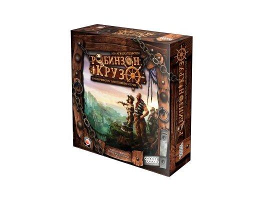 Настольная игра Hobby World 1521 Робинзон Крузо (2-е рус. изд.)
