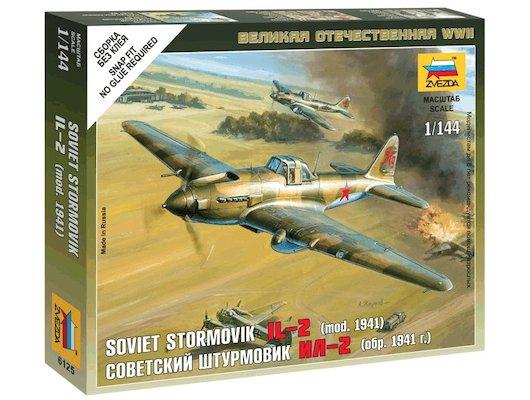 Конструктор ЗВЕЗДА 6125 Советский самолет Ил-2