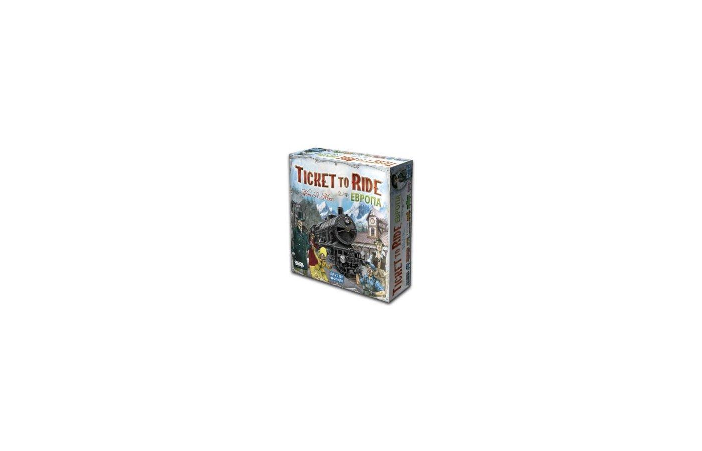 Настольная игра Hobby World 1032 Ticket to Ride Европа (3-е рус. изд.)