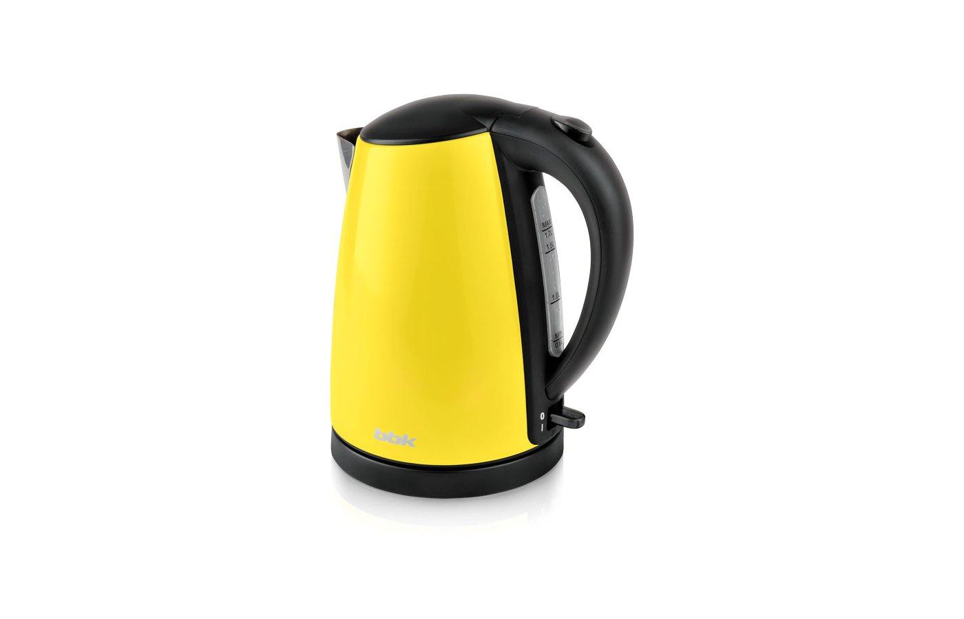 Чайник электрический  BBK EK1705S желтый