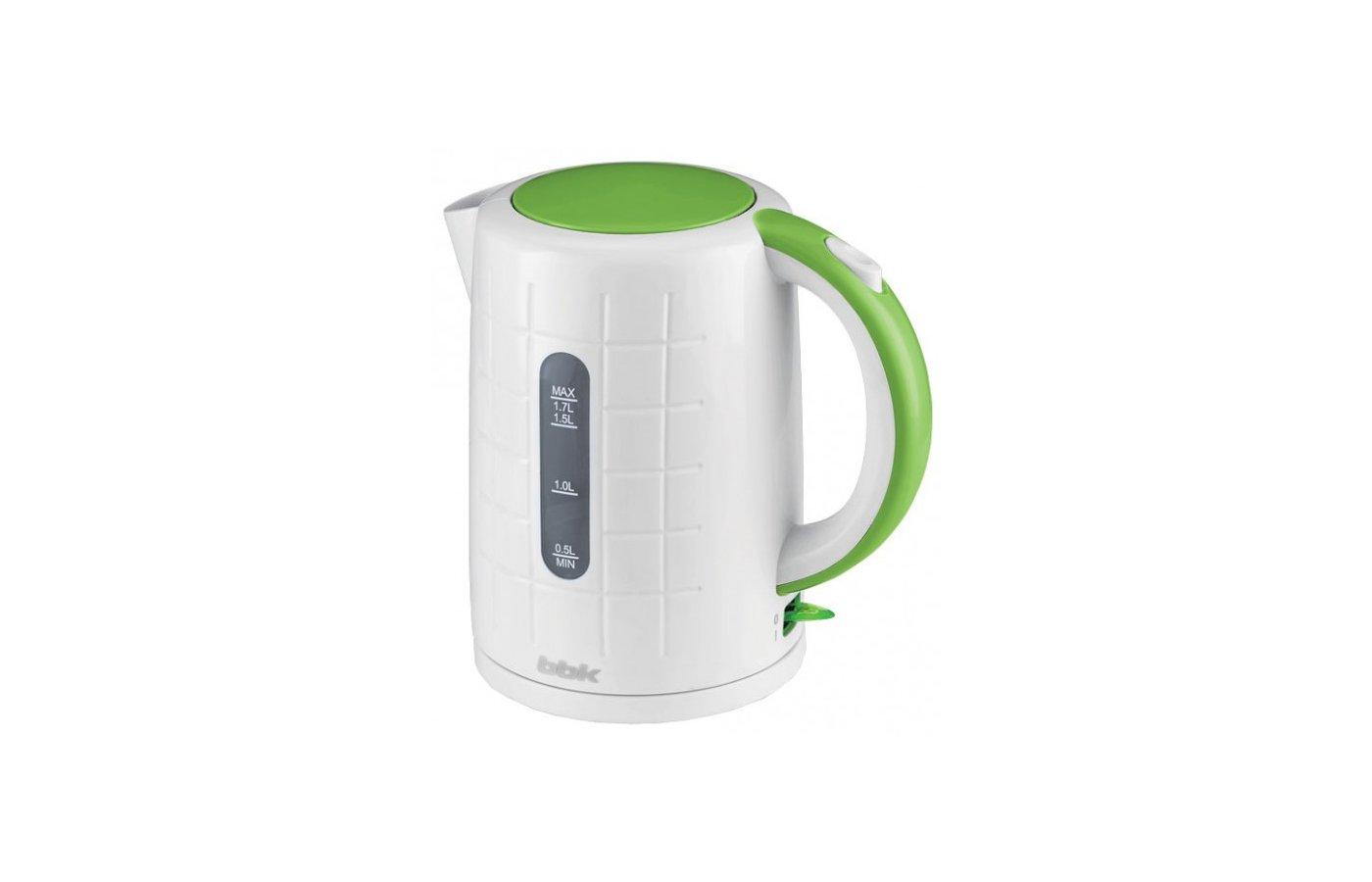 Чайник электрический  BBK EK1703P бел/зел