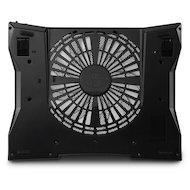 Фото Подставка для ноутбука Cooler Master Laptop Cooling NotePal XL Black (R9-NBC-NXLK-GP)