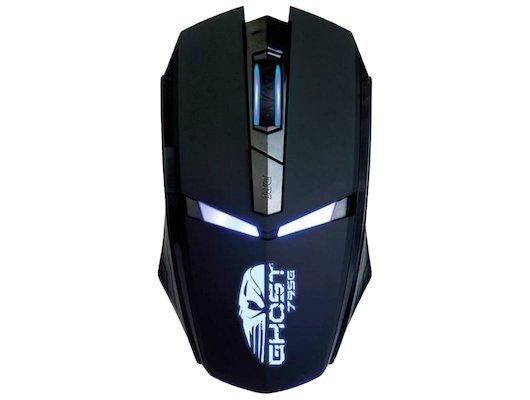 Мышь проводная Oklick 795G черный оптическая (2400dpi) USB игровая (5but)