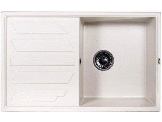 Кухонная мойка Weissgauff QUADRO 800 Eco Granit белый