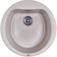 Фото Кухонная мойка Weissgauff RONDO 500 Eco Granit белый