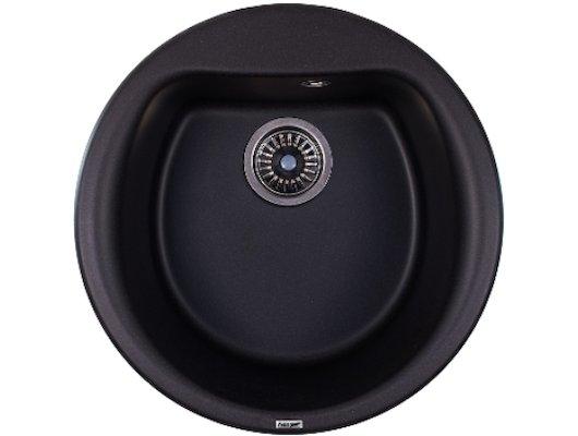 Кухонная мойка Weissgauff RONDO 500 Eco Granit черный