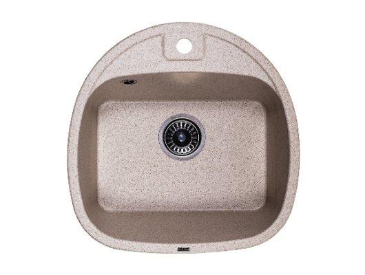 Кухонная мойка Weissgauff SOFTLINE 500 Eco Granit серый беж