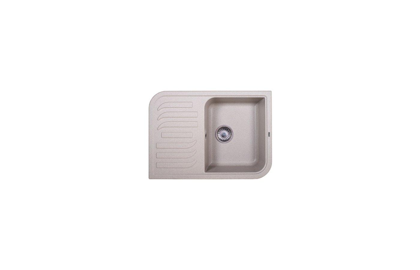 Кухонная мойка Weissgauff SOFTLINE 695 Eco Granit серый шелк