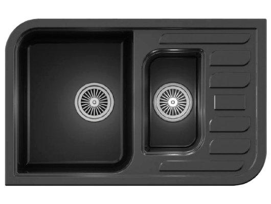 Кухонная мойка Weissgauff SOFTLINE 780 Eco Granit графит